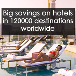 Upto 80% Off on Hotels Worldwide