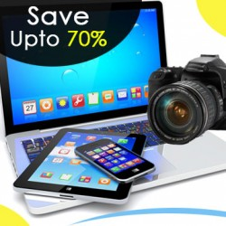 Save up 60% on Electronics